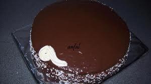 صورة كيفية وضع الكريمة على الكيك
