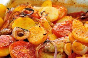 صورة طريقة عمل الدجاج بالبطاطس والبصل
