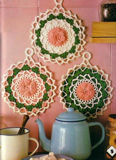 صورة كروشيهات للمطبخ
