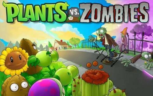 صورة زومبي ضد نباتات