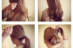 صورة كيفية تسريح الشعر الطويل