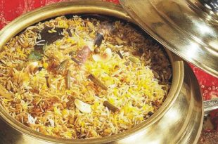 صور طريقة عمل برياني لحم هندي بالصور