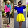 بالصور فن تنسيق الالوان في الملابس