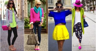 صورة فن تنسيق الالوان في الملابس