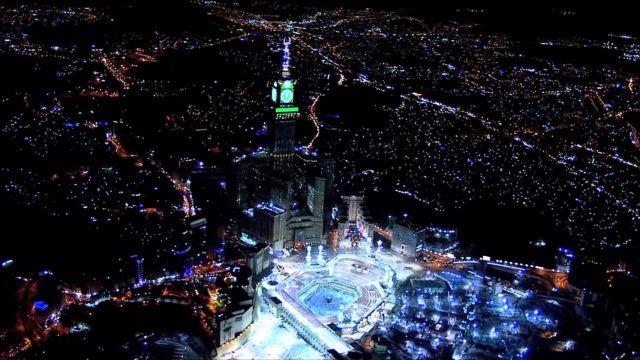 بالصور معلومات عن ساعة مكة