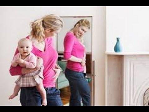 صورة اسرع طريقة لتخسيس البطن بعد الولادة