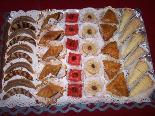 صورة حلويات تقليدية جزائرية بالصور