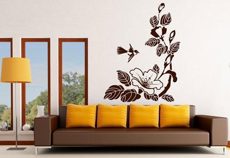 صورة رسومات جدارية للغرف