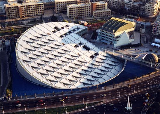 صورة صور لمكتبة الاسكندرية