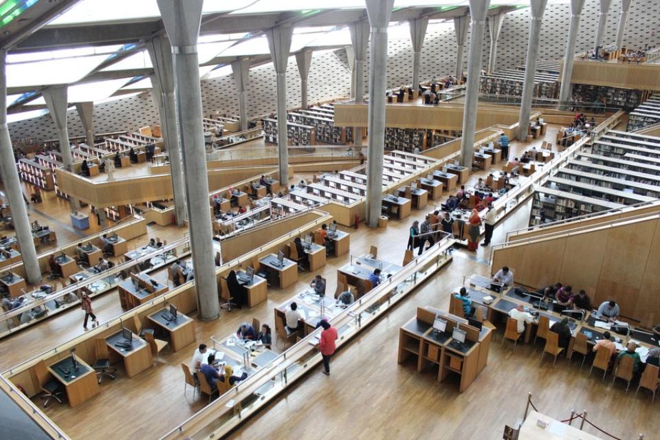 بالصور صور لمكتبه الاسكندرية