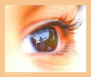 صور العين اليسرى ترمش
