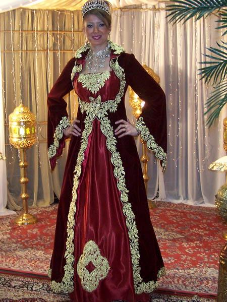 صور ملابس تقليدية جزائرية