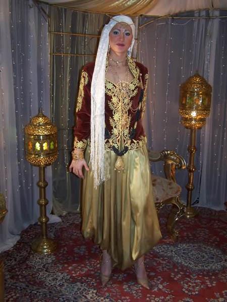 بالصور ملابس تقليديه جزائرية