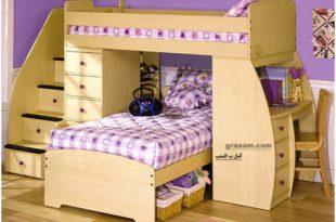 صورة غرف اطفال بسرير دورين