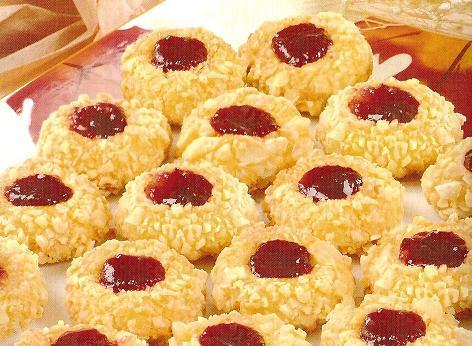 صورة حلويات جزائرية بسيطة