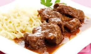صورة اللحم في الفرن
