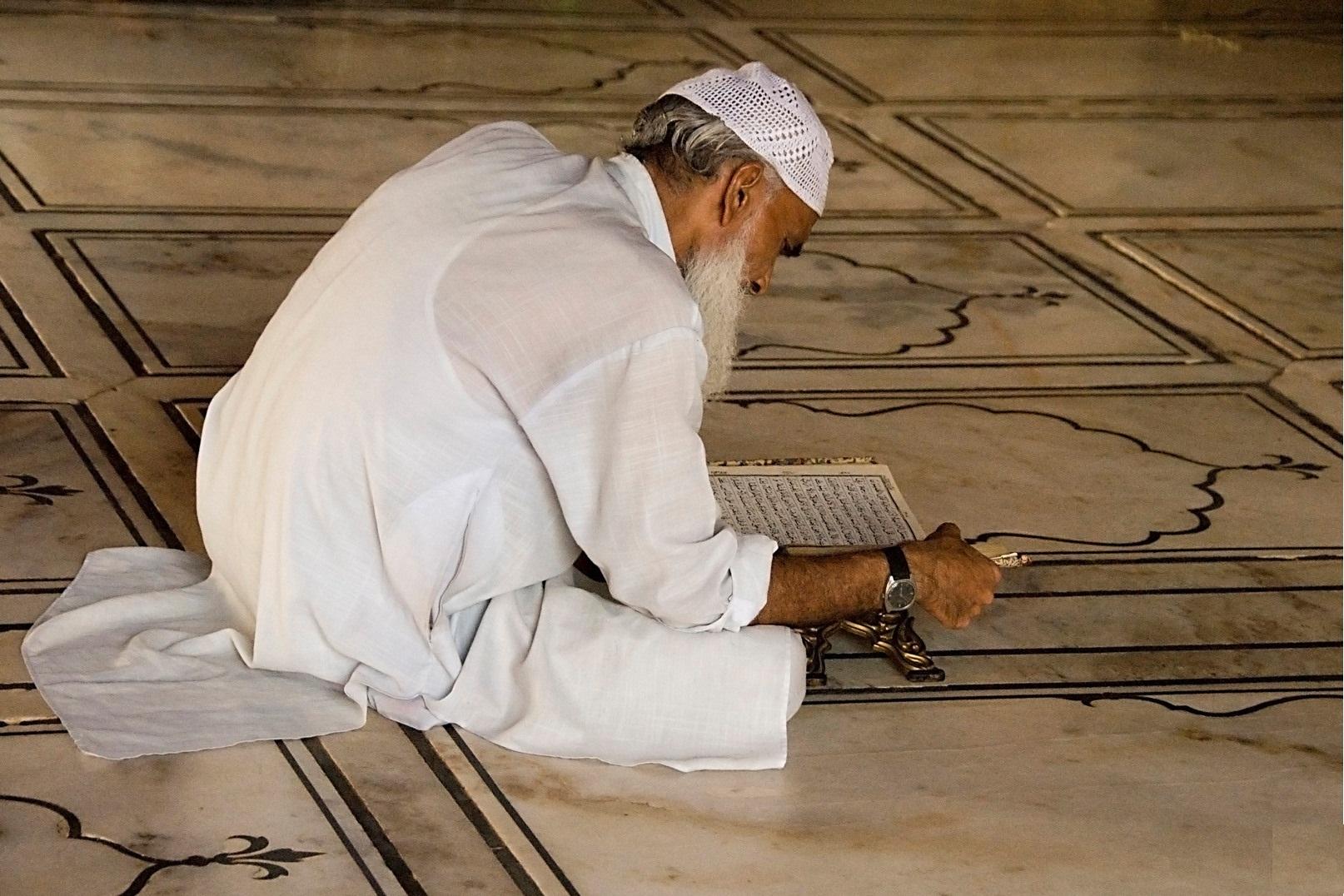 صور الشيخ الكبير في المنام