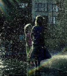 صورة المطر بالمنام