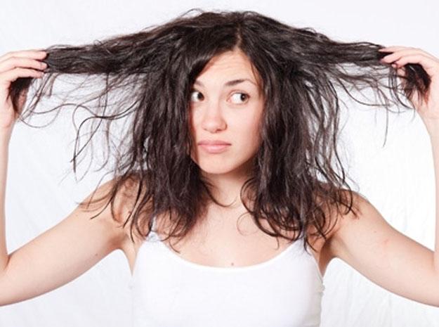 صور تنعيم الشعر الجاف
