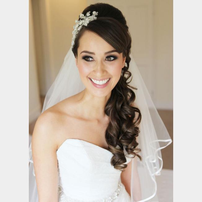 صورة تسريحة العروسة