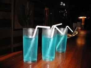 صورة عصير ازرق