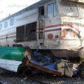 بالصور حادث قطار المنيا اليوم