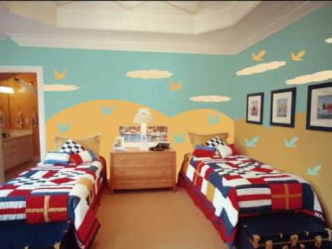 بالصور احدث شغل نقاشة غرف اطفال 20160817 182