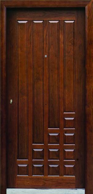 بالصور اجمل الابواب الخشبية