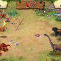 بالصور حرب ديناصورات