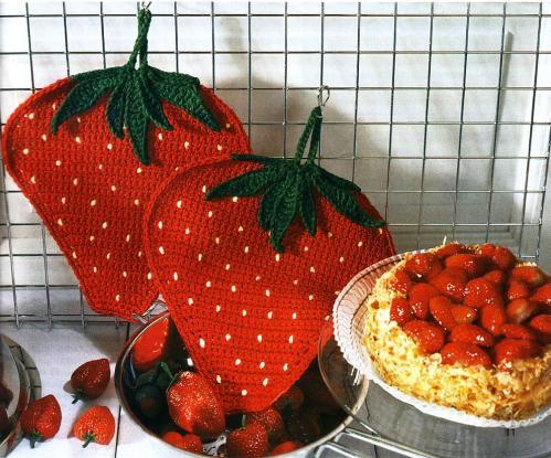صورة كروشيه للمطبخ