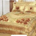 بالصور اغطية سرير بالساتان