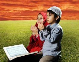 صورة تعامل النبي مع الصغار