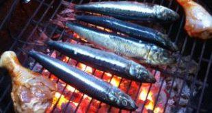 صورة تتبيلة سمك مشوي على الفحم