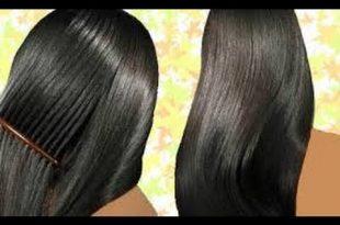صورة وصفة طبيعية لتكثيف الشعر في اسبوع
