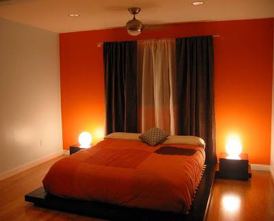 بالصور دهانات باللون البرتقالى و درجاته