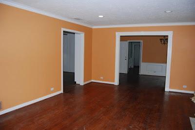 صور لديكورات أللون ألبرتقالى أورنج فِى ألحوائط