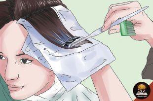صورة طريقة تلوين الشعر