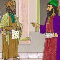 بالصور قصة الملك والوزير لعله خير