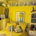 بالصور غرف نوم باللون الاصفر