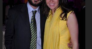 صورة الفنانة يسرا وزوجها