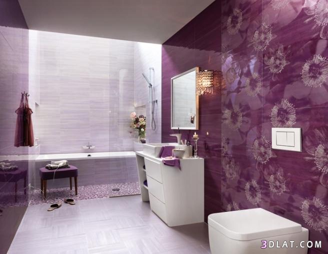 بالصور ديكور حمامات جديد