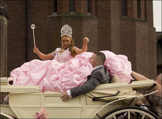صورة عروس سمينة