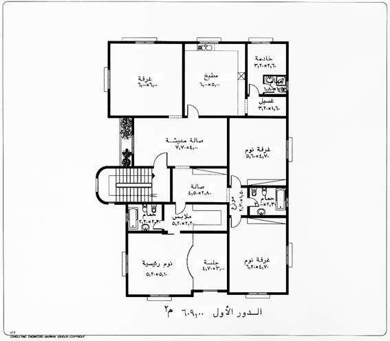 صور مخططات بيوت صغيرة دور واحد