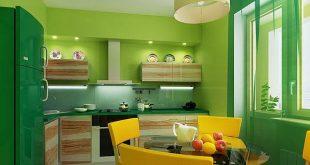 صورة الوان حوائط المطبخ