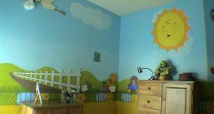 صورة رسومات لغرف الاطفال