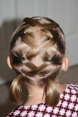 تسريحات الشعر القصير للبنات الصغار