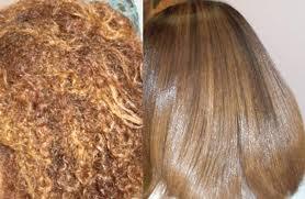 صورة كريم لفرد الشعر بدون اضرار