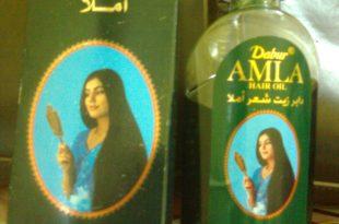 صورة طريقة استخدام زيت دابر املا لتطويل الشعر