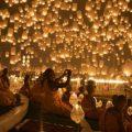بالصور مهرجان المصابيح في تايلاند