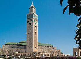 صورة مسجد الحسن الثاني